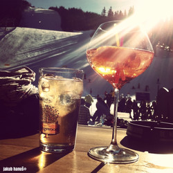 Parádní den na lyžích.