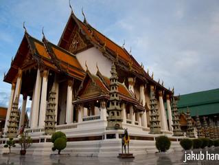 Bangkok. První zastávka thajského dobrudružství.