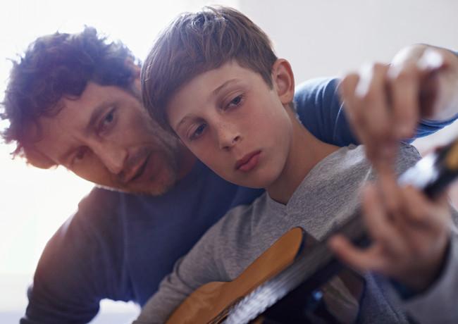 guitarra de aprendizagem