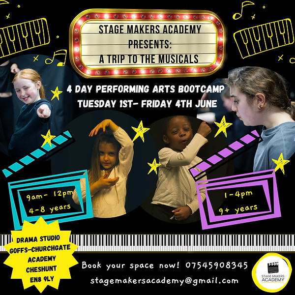June Performing Arts Bootcamp_Stage Make