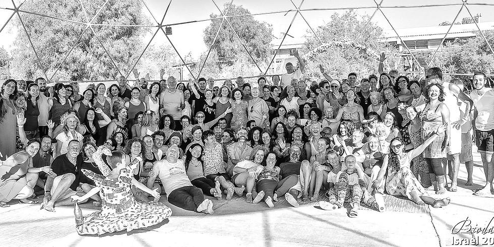 DELAYED (COVID 19) - 9th Biodanza Festival in the Mizpe Ramón desert.