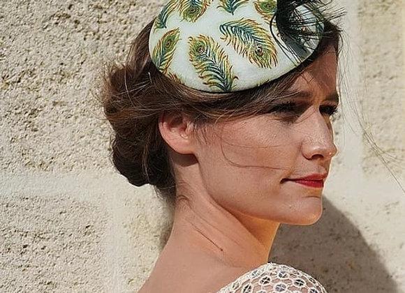 Chapeau Marie Hélène tissu personnalisé