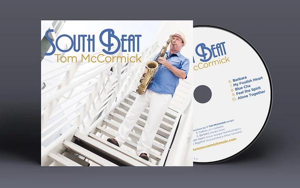 Tom McCormick South Beat Music Album Mockup