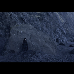 Angie Capo as the Raven Image Capture from the Music Video