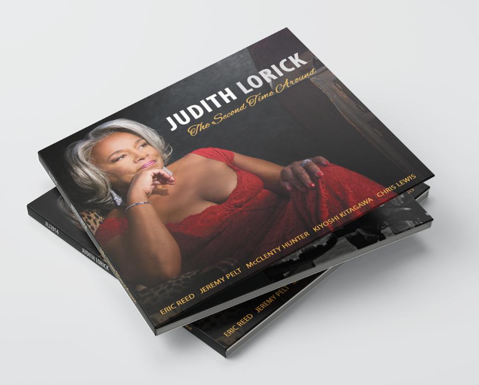 Judith Lorick Music Album  The Second Time Around Mockup