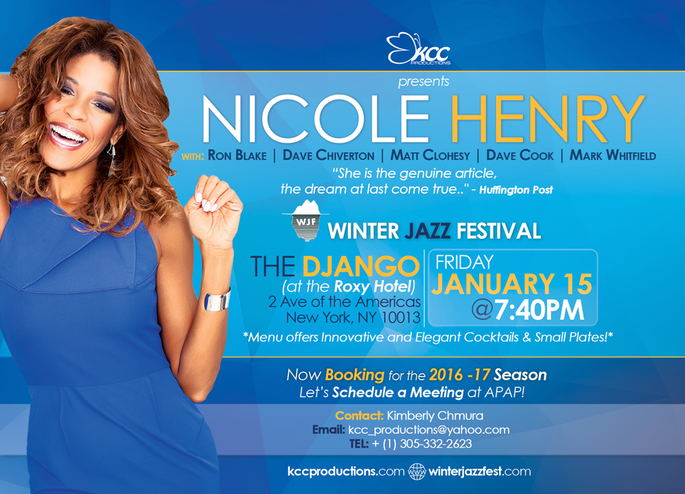 Nicole Henry APAP Conference Flyer by KCC Productions
