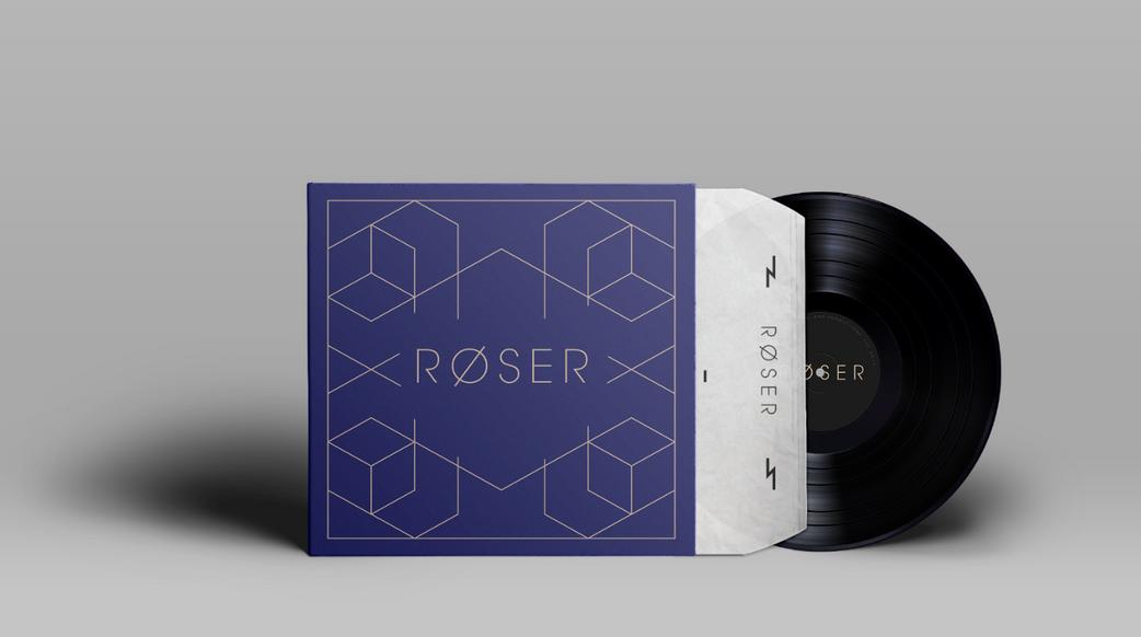 Roser Vinyl Debut Album Mockup