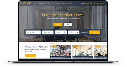 Real Estate Website Web Design