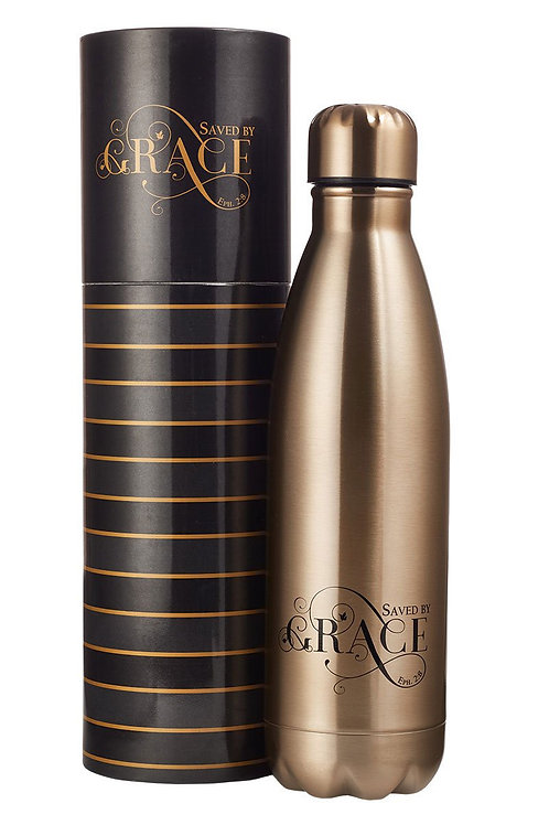 Saved By Grace Stainless Steel Bottle