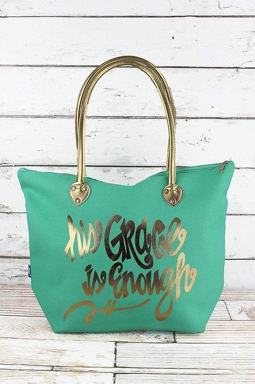 His Grace Is Enough Tote Bag