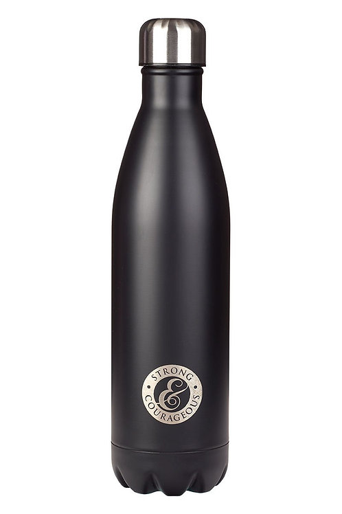 Strong & Courageous Stainless Steel Water Bottle