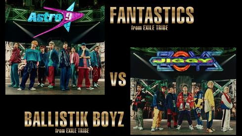 FANTASTICS from EXILE TRIBE vs BALLISTIK BOYZ from EXILE TRIBE / SHOCK THE WORLD