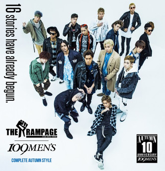 THE RAMPAGE×109MEN'S