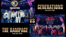 GENERATIONS from EXILE TRIBE vs THE RAMPAGE from EXILE TRIBE / SHOOT IT OUT