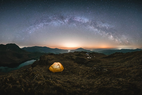 Gallt y wenallt-Milky way