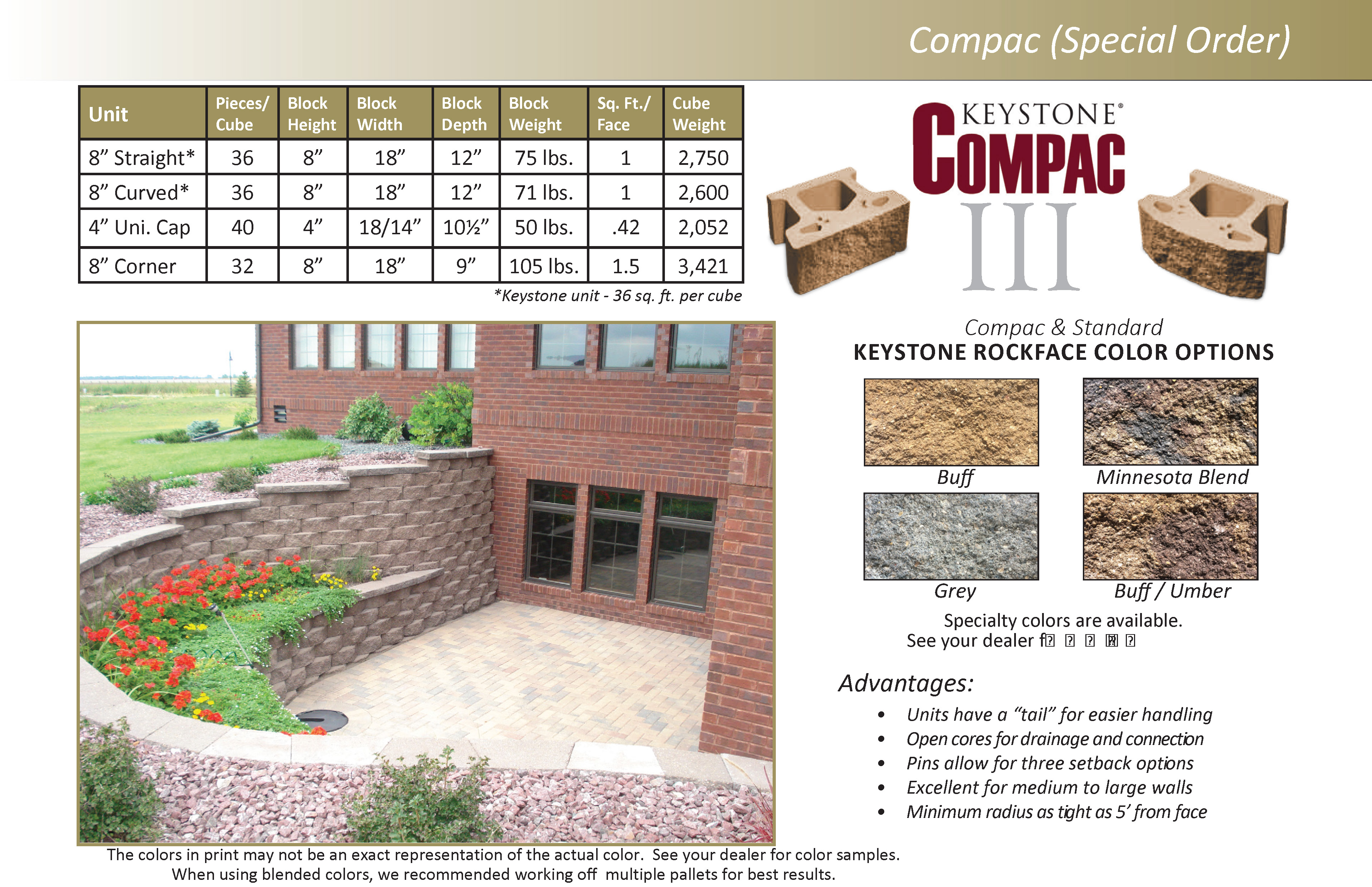 Keystone Landscape Block | Concrete Block | Structural Block Inc