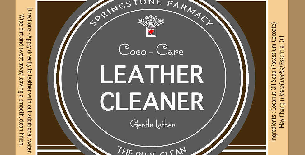 Coco-Care Leather Cleaner