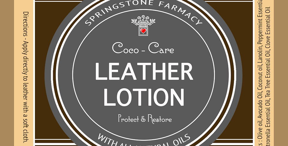 Coco-Care Leather Lotion