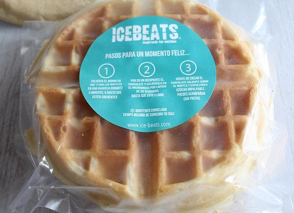 Waffle Congelado de 2 unidades