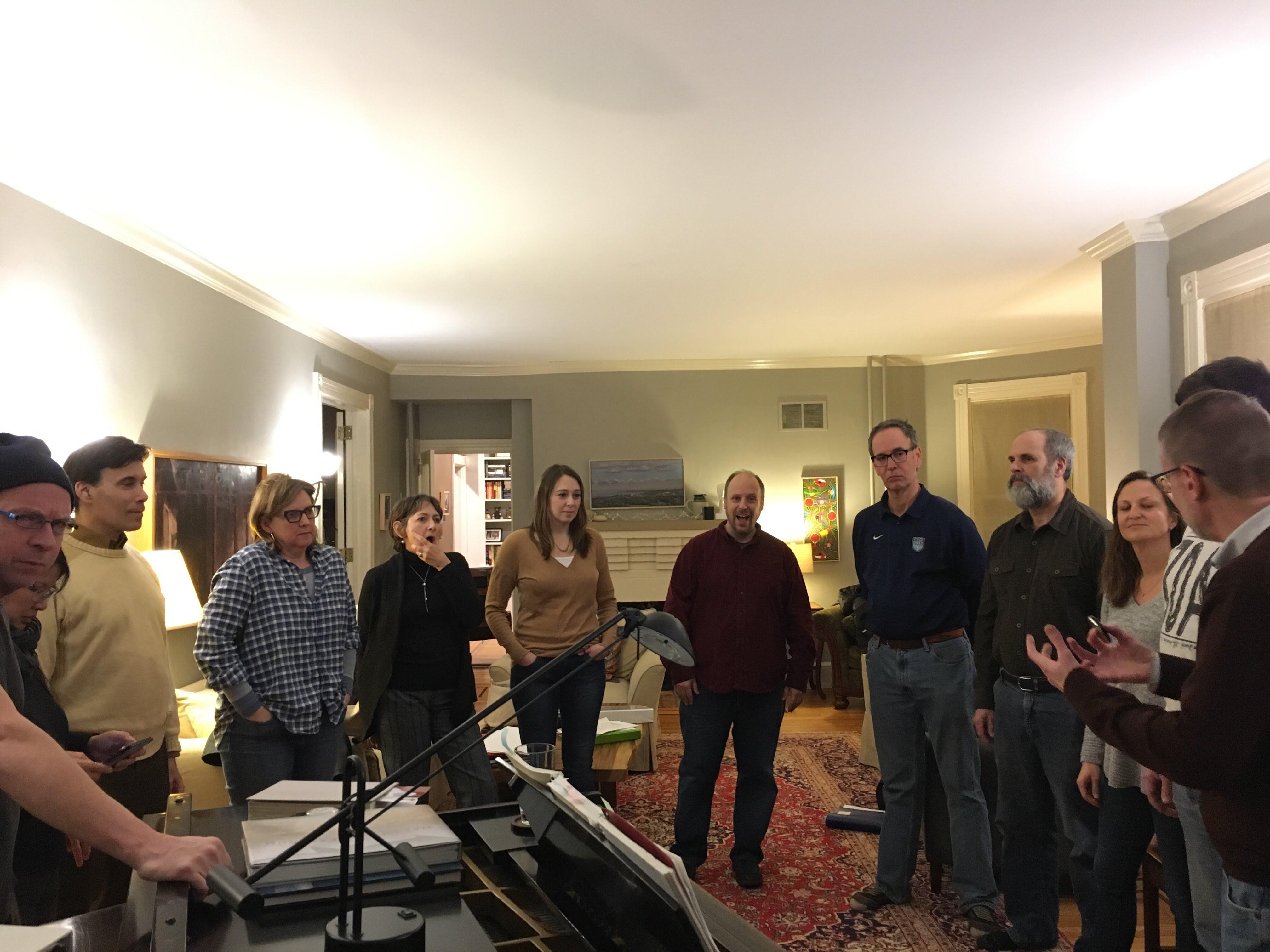Rehearsal, 2018