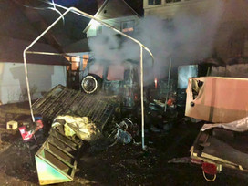 Wallace fire destroys van and causes major damage to house | North Idaho News Now