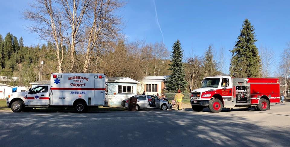 Shoshone County emergency crews respond to head-on-head collision near Osburn - Silver Valley News