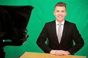 John Webb doing the news