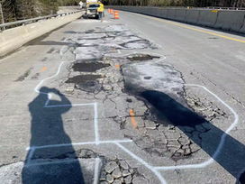 ITD repairs potholes on I-90 near Lookout Pass | North Idaho News Now