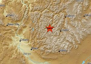 6.5 earthquake strikes Challis, Idaho area