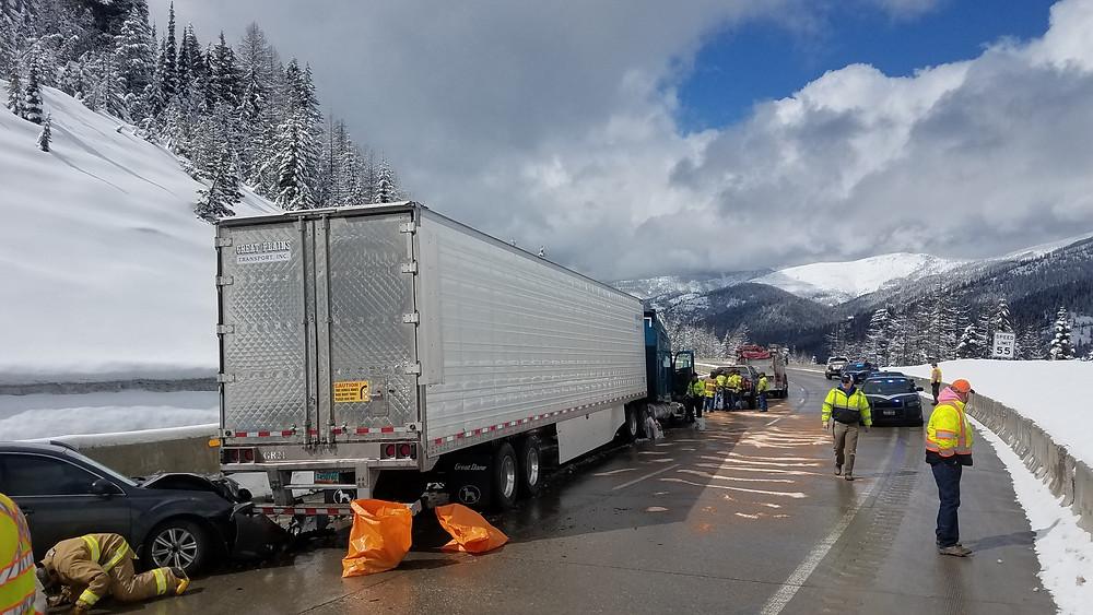 Lookout Pass multi-vehicle crash UPDATE
