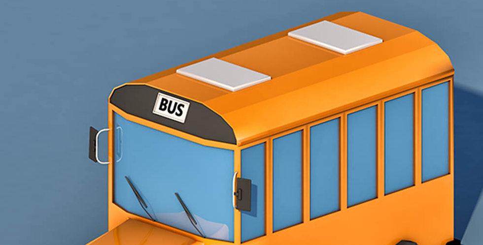School Bus (LowPoly)