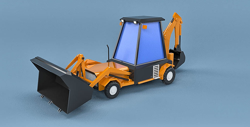 Excavator Loader (LowPoly)