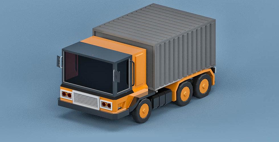 Truck  (LowPoly)
