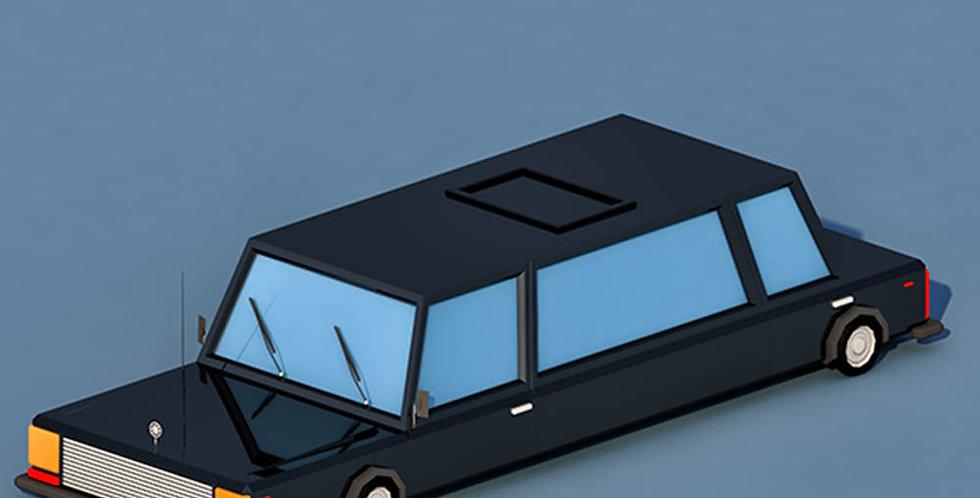 Limousine Car (LowPoly)