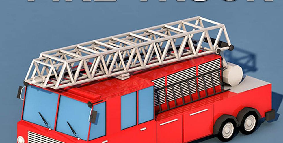 Fire Truck (LowPoly)