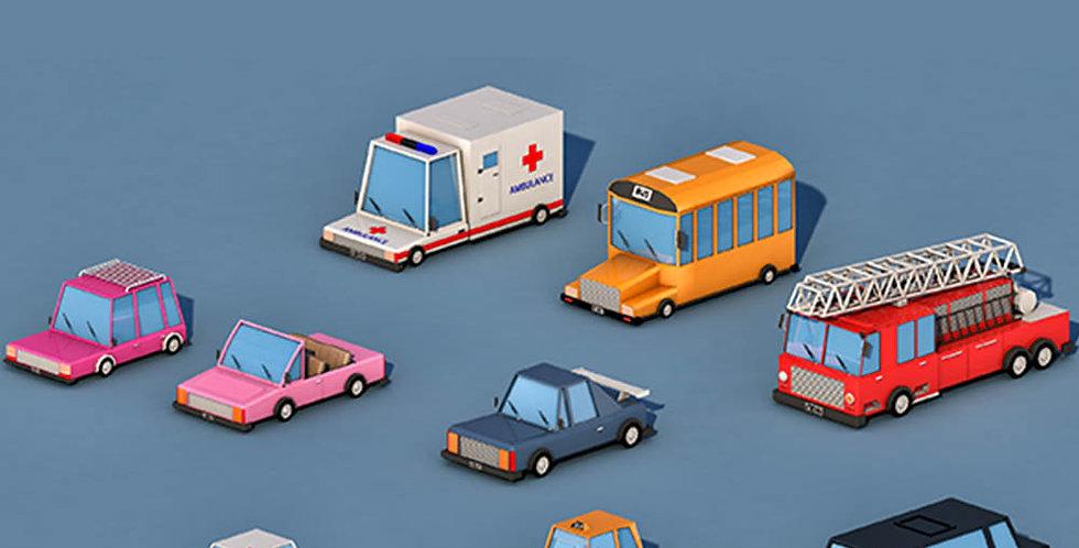 City Cars (LowPoly)