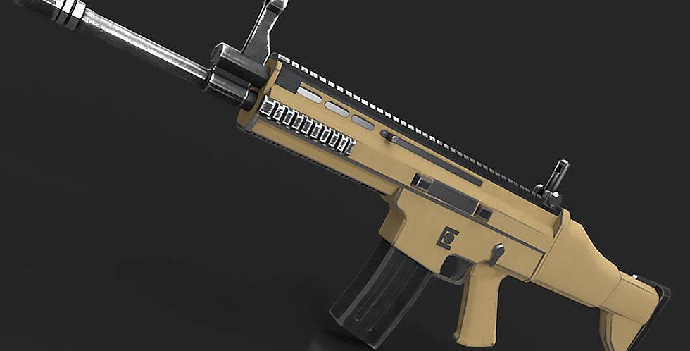 Fn Scar Gun