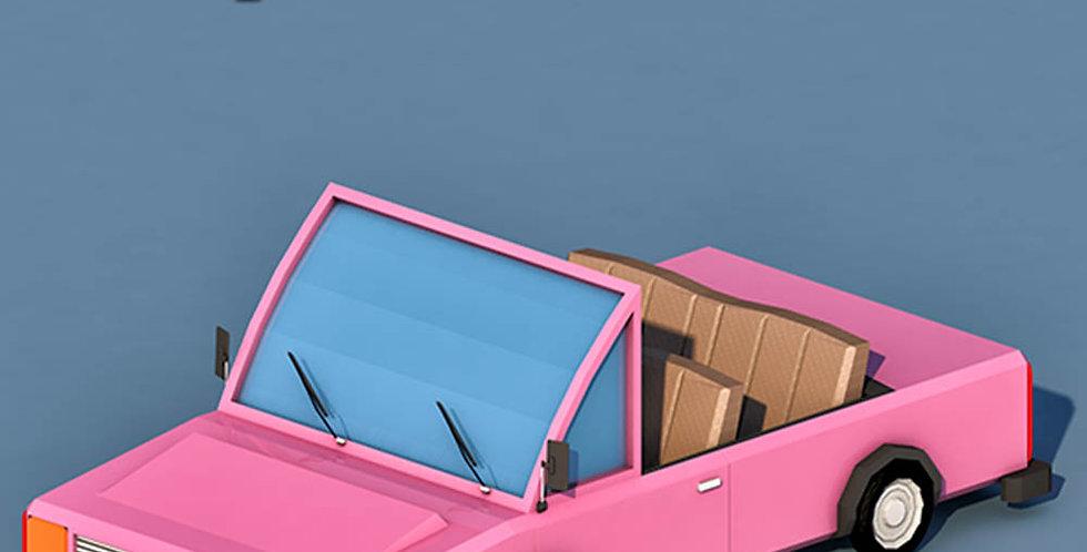 Open Car (LowPoly)