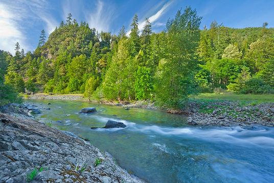 blue creek above west fork confluence cl