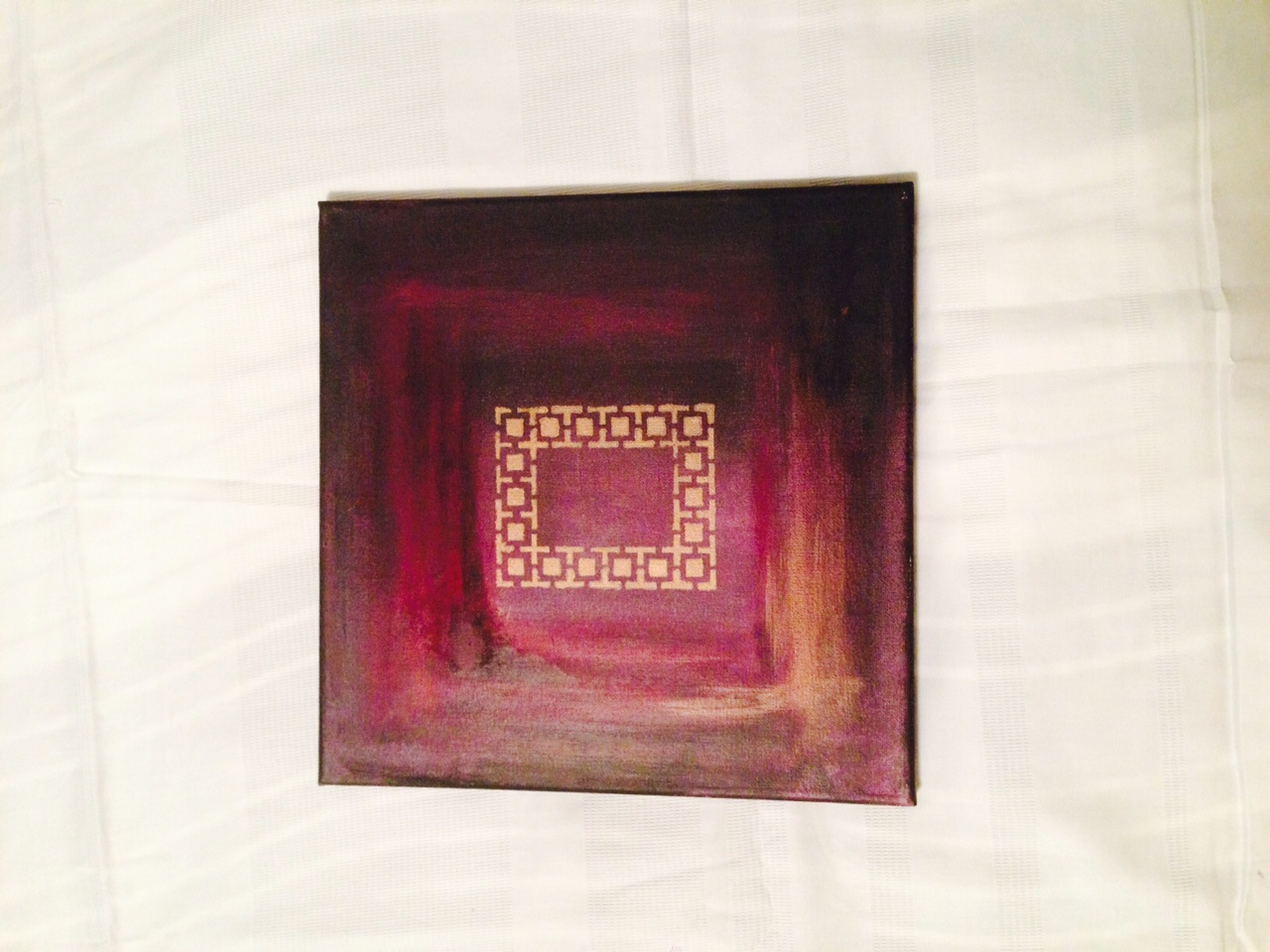 Elegant purple frame