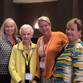 GRJ Forum 2016 - Barb Tschoepe,Geneva Johnson, Caroline Goulet, Beth Whitehead