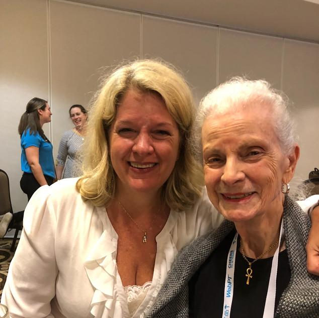 CSM 2018 - Geneva Johnson and Caroline Goulet
