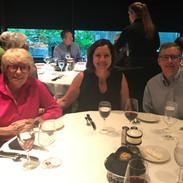 ELC 2018 - PTLI Board Dinner - Carol Davis, Karen Abraham, Peter Altenburger