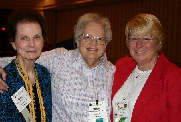 Geneva Johnson, Helen Hislop, Carol Davis