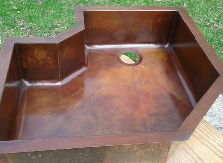 Custom Copper Sink