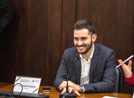 Giuseppe Riesgo é um dos 4 deputados que não usaram diárias em 2019