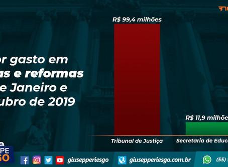 Deputado Riesgo compara gastos do TJ com obras em escolas