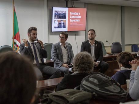Bancada do Novo apresenta resultados dos primeiros 100 dias na Assembleia