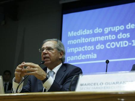 Entenda as medidas propostas por Paulo Guedes contra o Coronavírus