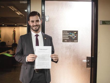 Deputado Giuseppe Riesgo propõe Subcomissão para analisar Reforma Tributária